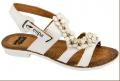 143009-2EW/Туфли летние женские Бел.