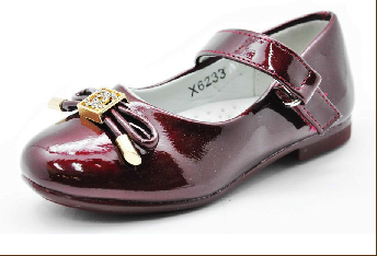 X6233/Туфли детские Бордо