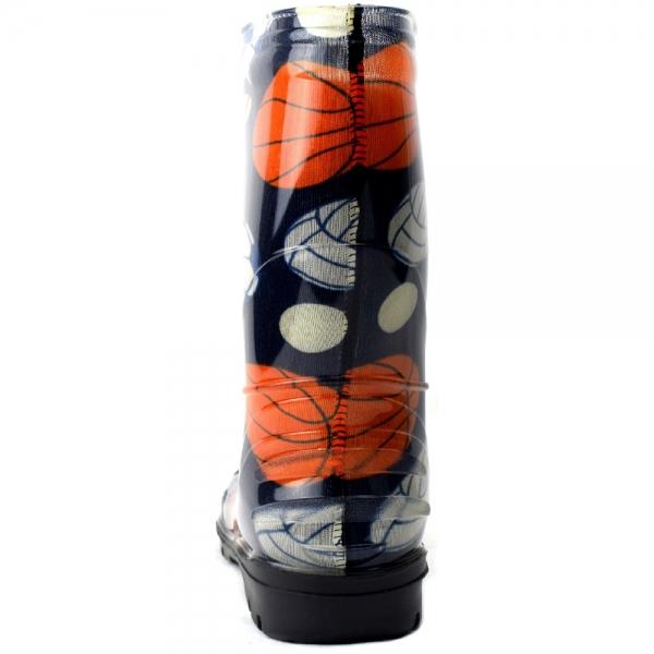 Д14-ЦФутбол/Детские резиновые сапоги